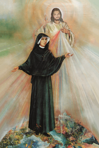 (EN) Prayer Card St. Faustina canonization 6x10