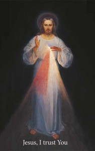 (EN) Prayer Card Jesus - Wilno. Chaplet 56x90