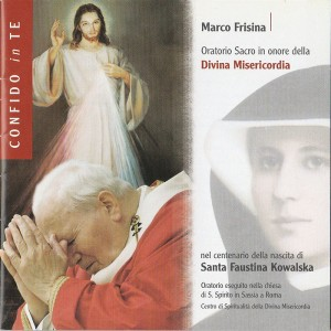CD Oratorio Confido in Te