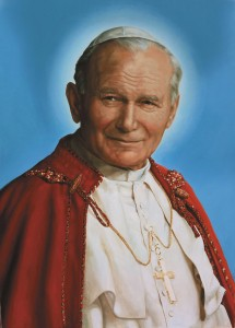 (EN) Prayer Card JPII. Chaplet 6x10 cm