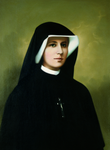 (EN) Prayer Card St. Faustina 56x90