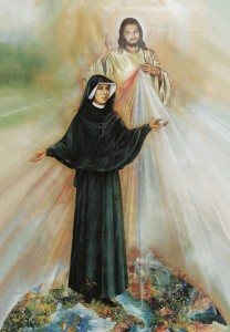 (EN) Prayer Card St. Faustina canonization, 56x90