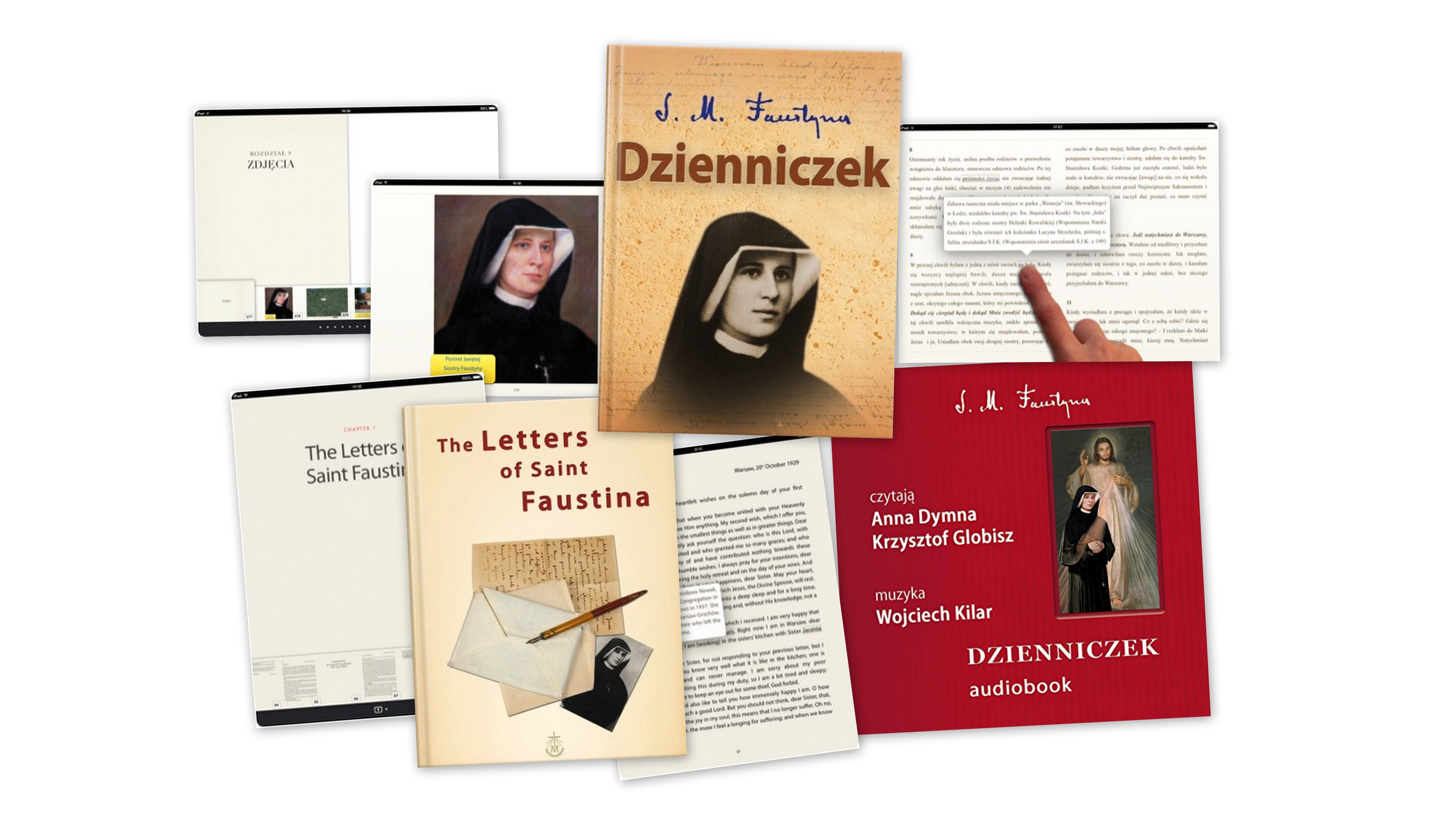 Dzienniczek - audiobook, ebook, The Letters of Saint Faustina - ebook